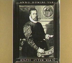 Portret van Adriaen Dircksz. de Vriese (1548-?)