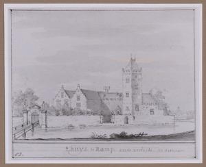 Het Huis te Ramp (ook wel Rampenbosch of Rampenburg) bij Bergen