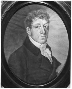 Portret van Abraham Christiaan de Hertoghe Huber (1772-1840)