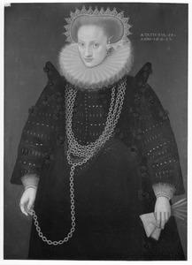 Portret van Henriette Herbouts (1579-?)