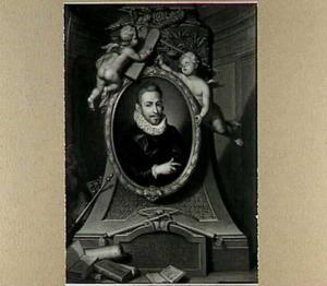 Portret van Petrus Cunaeus (1586-1638)