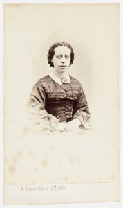 Portret van Susanna Adriana Carolina Lantsheer (1832-1902)