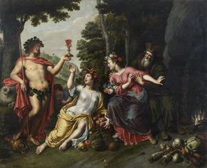 Allegorie op de vier seizoenen