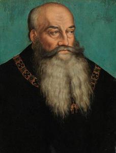 Portret van Hertog Georg de Baardige van Saksen