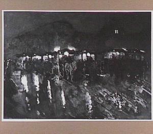 Paardentrams op de Dam