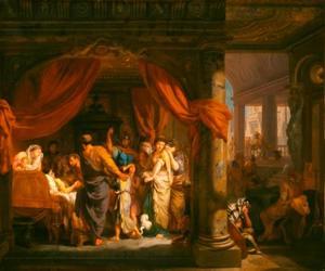 De dood van Germanicus (Tacitus, Annales, II, LXXI en LXXII)