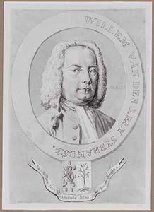 Portret van Willem van der Lely (1698-1772)