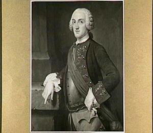 Portret van Willem Nicolaas Pesters (1717-1794)