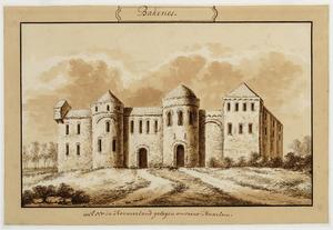 Voorzijde van Bakenes bij Haarlem