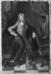 Portret van Christiaan Karel van Lintelo (1669-1736 )