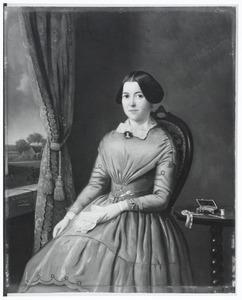 Portret van Anthonetta de Reus (1825-1894)
