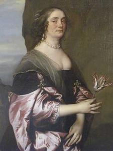 Portret van Jane Goodwin (?-1658), vrouw van Philip Wharton, 4th Baron Wharton