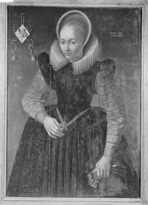 Portret van Hilletje Gerritsdr. (....-1655)