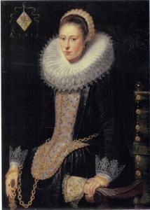 Portret van een vrouw, mogelijk Bessela Pelgrom