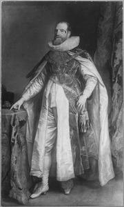 Portret van Henry Danvers, 1st Earl of Danby (1573-1643) als ridder in de Orde van de Kousenband
