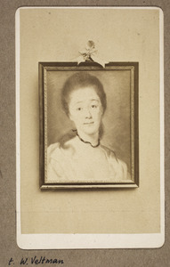 Portret van Egberta Louise Beckeringh (1740-1810)