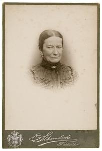 Portret van Maria Brooshooft (1844-1905)