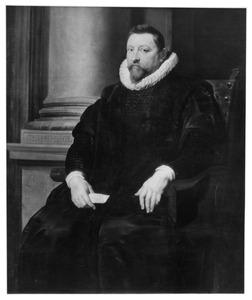 Portret van Pieter Pecquius (1562-1625), kanselier van Brabant