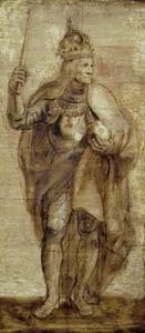 Standbeeld voor keizer Maximiliaan I