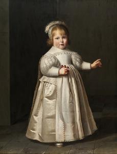Portret van een jongen, waarschijnlijk Willem van der Muelen (1631-1690)