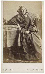 Portret van Jemina Frederica van Capellen (1804-1864)