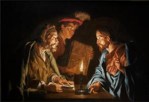 Christus onderwijst Nicodemus (Johannes 3:1-21)