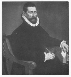 Portret van een man met een boek