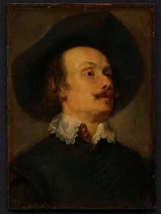 Portret van een man, mogelijk Pieter Snayers (1599-?)