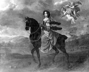 Portret van Dorothea van Holstein-Glücksburg (1636-1689)