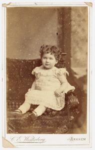 Portret van Francoise Wilhelmina Lambertine von Nagell (1888- )