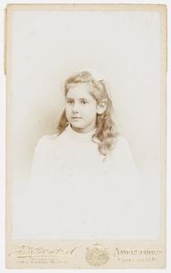 Portret van Gottfrieda Martha Ruijsch Lehman de Lehnsfeld (1894- )