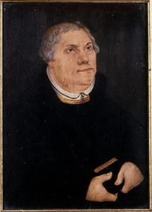 Portet van Maarten Luther