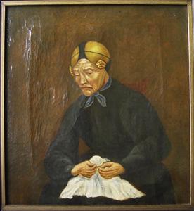 Portret van Johanna Thijs Valk (1800-1880)