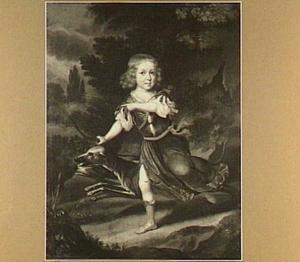 Kinderportret van Nicolaes de Gijselaar (1680-1728), advocaat, schepen te 's Hertogenbosch; echtgenoot van Agatha van Schagen (1693-1755)