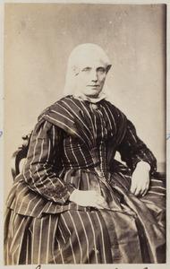 Portret van Aebeltje Haebeles van Dijk (1823-...)