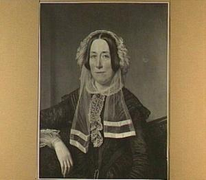 Portret van Jacoba van der Breggen Pauw, echtgenote van J.P. van Mansvelt (1794-1860)