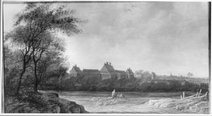 Gezicht op Huis ter Nieu-burg in Rijswijk
