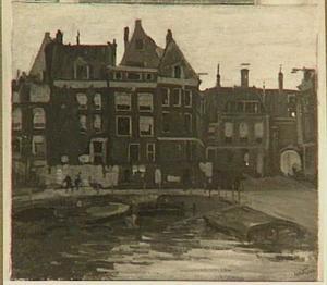 Het beurspoortje gezien vanaf het Rokin, Amsterdam