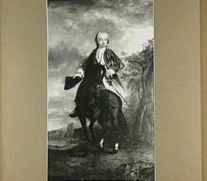 Portret van Unico Allard Albeda van Menkema, heer van Menkema en Dijksterhuis, lid van de Staten van Groningen, Provinciale Rekenkamer, Staten-Generaal, Raad van State, etc. (1726-1790), echtgenoot van Christina Bentinck