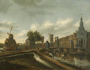 De Haarlemmerpoort te Amsterdam