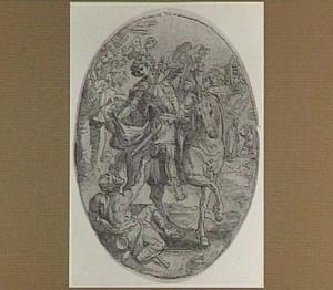 H. Martinus deelt zijn mantel met een bedelaar