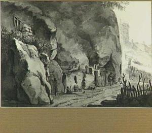 Rotswoning bij Saumur