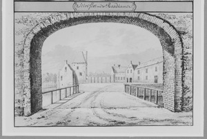 De raadkamer van kasteel Culemborg