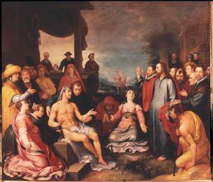 De opwekking van Lazarus (Johannes 11:17-45)