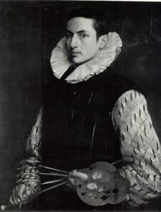 Zelfportret van een onbekende schilder