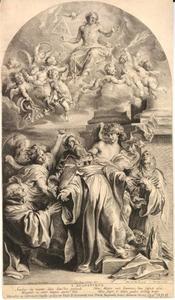 Heilige Augustinus in extase