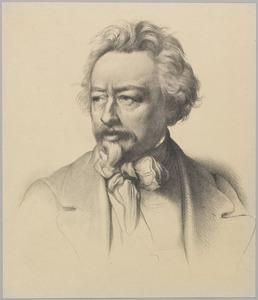 Portret van Ary Scheffer (1795-1858)
