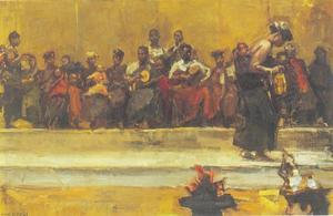 Ashanti dansers