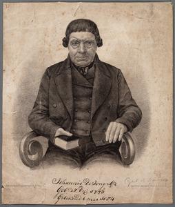 Portret van Johannis de Jonge Gz. (1773-1859)