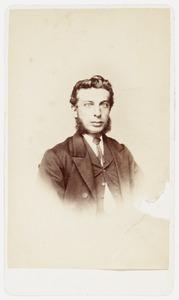 Portret van Johannes Arnoldus Oosterbaan (1837-1901)